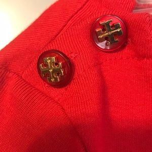 Tory Burch Dresses - Beautiful red Tory Burch Dress!